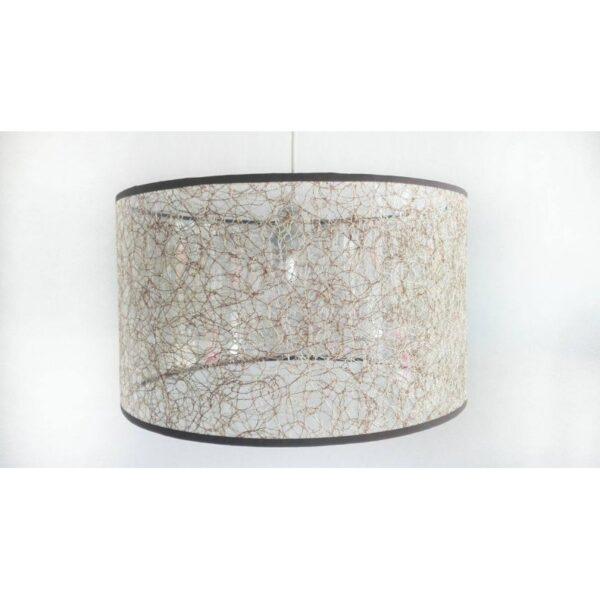 Abajur din material textil imitatie de panza de paianjen TXT PPC CIL 1