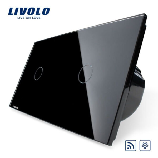 Intrerupator simplu+simplu, dimabil, wireless VL-C701DR/VL-C701DR-11/12/13/15