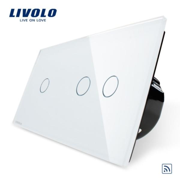 Intrerupator simplu+dublu wireless VL-C701R/VL-C702R-11/12/13/15