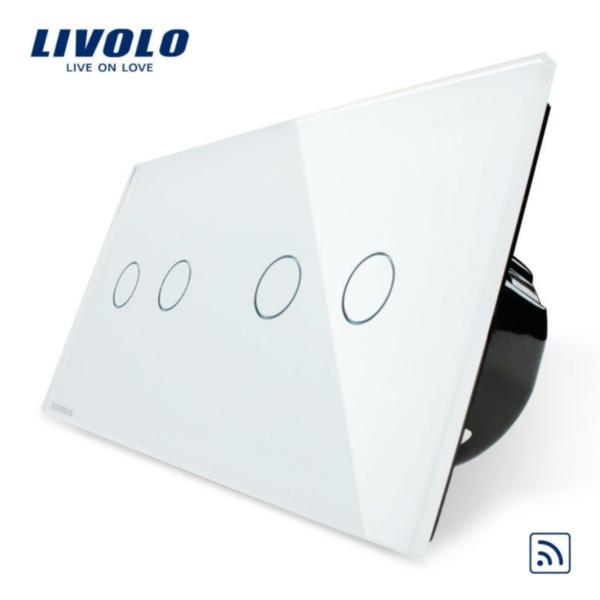 Intrerupator dublu+dublu wireless VL-C702R/VL-C702R-11/12/13/15