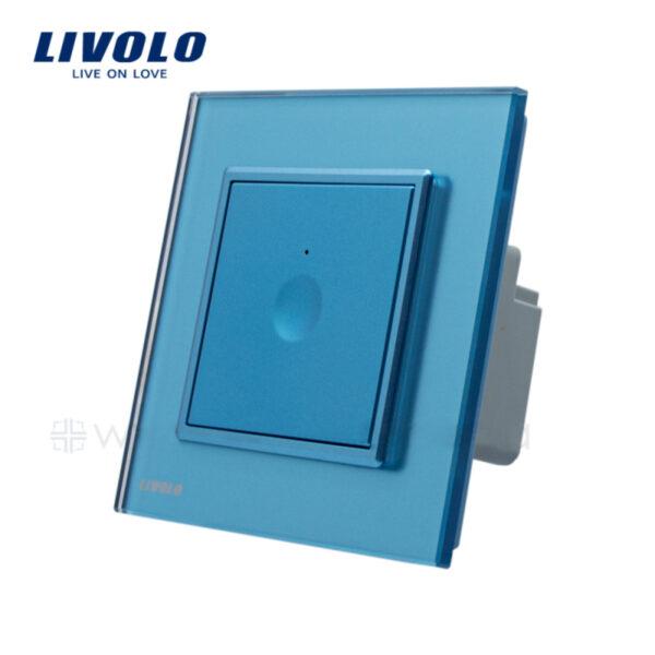 Intrerupator tactil simplu, rama sticla